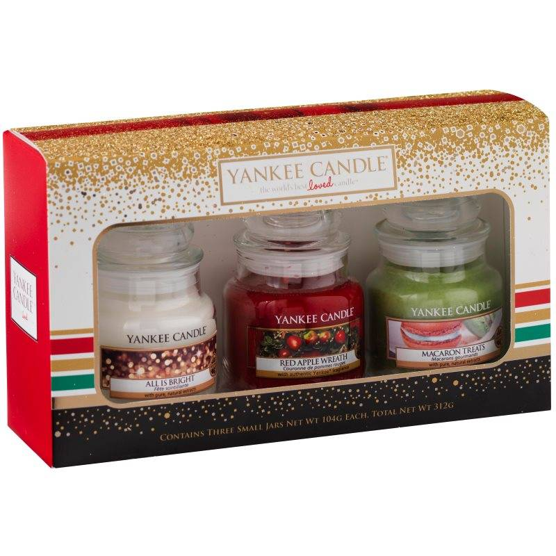 yankee candle geschenkset weihnachten in dose 3x classic. Black Bedroom Furniture Sets. Home Design Ideas