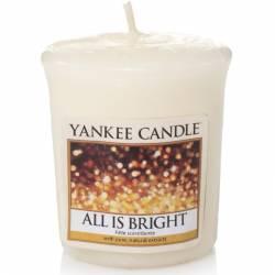 Yankee Candle Sampler Votivkerze All is Bright