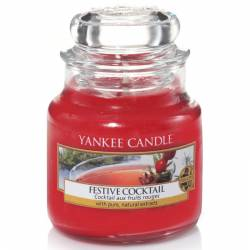 Yankee Candle Jar Glaskerze klein 104g Festive Cocktail