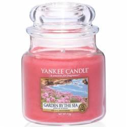 Yankee Candle Jar Glaskerze mittel 411g Garden by the Sea