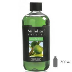 Green Fig & Iris Millefiori Natural Refill 500 ml