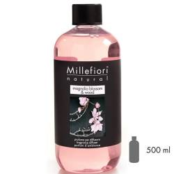 Magnolia Blossom & Wood Millefiori Natural Refill 500 ml