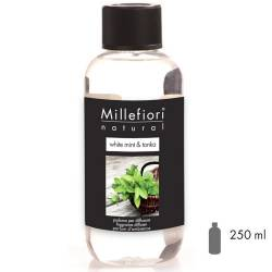 White Mint & Tonka Millefiori Natural Refill 250 ml