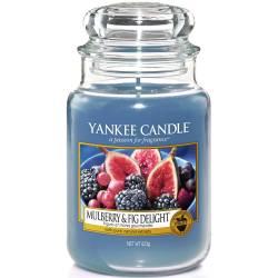 Yankee Candle Jar Glaskerze groß 623g Mulberry & Fig Delight