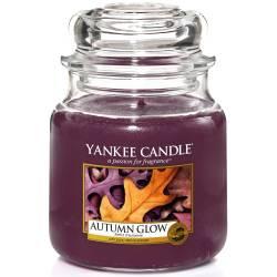 Yankee Candle Jar Glaskerze mittel 411g Autumn Glow