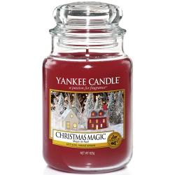 Yankee Candle Jar Glaskerze groß 623g Christmas Magic