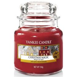 Yankee Candle Jar Glaskerze klein 104g Christmas Magic
