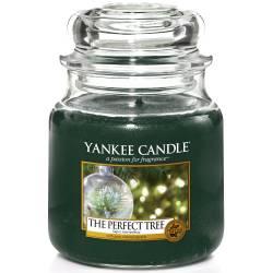 Yankee Candle Jar Glaskerze mittel 411g The Perfect Tree