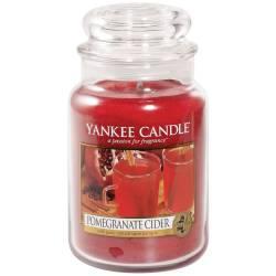 Yankee Candle Jar Glaskerze groß 623g Pomegranate Cider