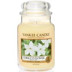 Yankee Candle Jar Glaskerze groß 623g Tobacco Flower