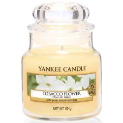 Yankee Candle Jar Glaskerze klein 104g Tobacco Flower
