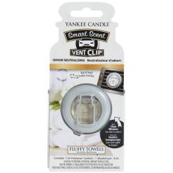 Yankee Candle Smart Scent Vent Clip Autoduft Fluffy Towels