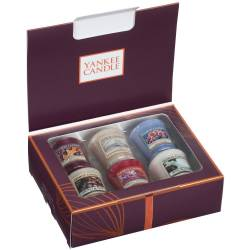 Yankee Candle Geschenk-Set Fall in Love Sampler / Votive 6er