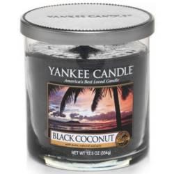 Yankee Candle 1 Docht Regular Tumbler Glaskerze klein 198g Black Coconut