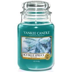 Yankee Candle Jar Glaskerze groß 623g Icy Blue Spruce