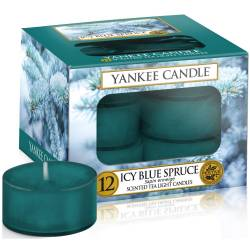 Yankee Candle Teelichter 12er Pack Icy Blue Spruce