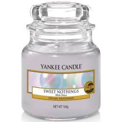 Yankee Candle Jar Glaskerze klein 104g Sweet Nothings
