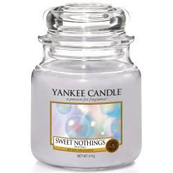 Yankee Candle Jar Glaskerze mittel 411g Sweet Nothings