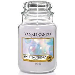 Yankee Candle Jar Glaskerze groß 623g Sweet Nothings