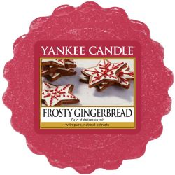 Yankee Candle Tart / Melt Frosty Gingerbread