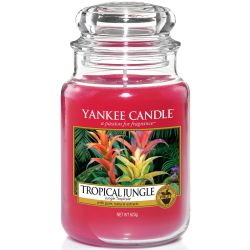 Yankee Candle Jar Glaskerze groß 623g Tropical Jungle