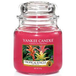 Yankee Candle Jar Glaskerze mittel 411g Tropical Jungle
