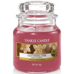 Yankee Candle Jar Glaskerze klein 104g Glittering Star