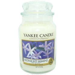 Yankee Candle Housewarmer Jar Glaskerze groß 623g Midnight Jasmine