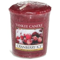Yankee Candle Sampler Votivkerze Cranberry Ice