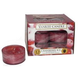 Yankee Candle Teelichter 12er Pack Cranberry Ice