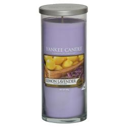 Yankee Candle Pillar Glaskerze gross 566g Lemon Lavender