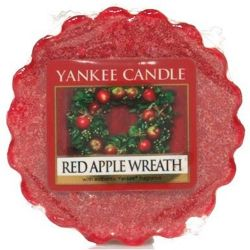 Yankee Candle Tart / Melt Red Apple Wreath