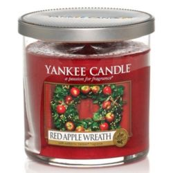 Yankee Candle 1 Docht Regular Tumbler Glaskerze klein 198g Red Apple Wreath