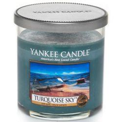 Yankee Candle 1 Docht Regular Tumbler Glaskerze klein 198g Turquoise Sky *