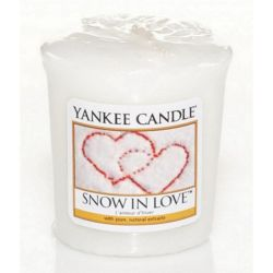 Yankee Candle Sampler Votivkerze Snow in Love