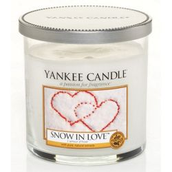 Yankee Candle 1 Docht Regular Tumbler Glaskerze klein 198g Snow in Love