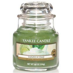 Yankee Candle Jar Glaskerze klein 104g Vanilla Lime