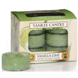Yankee Candle Teelichter 12er Pack Vanilla Lime