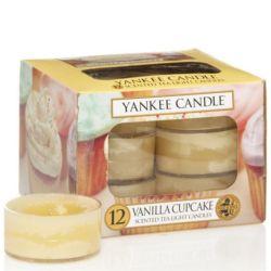 Yankee Candle Teelichter 12er Pack Vanilla Cupcake