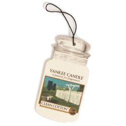 Yankee Candle Car Jar Clean Cotton