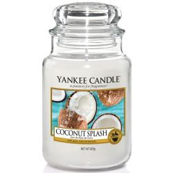 Yankee Candle Jar Glaskerze groß 623g Coconut Splash