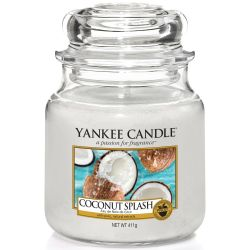 Yankee Candle Jar Glaskerze mittel 411g Coconut Splash