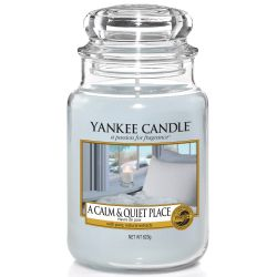 Yankee Candle Jar Glaskerze groß 623g A Calm And Quiet Place