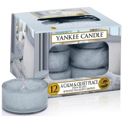 Yankee Candle Teelichter 12er Pack A Calm And Quiet Place