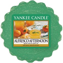 Yankee Candle Tart / Melt Alfresco Afternoon