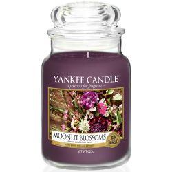 Yankee Candle Jar Glaskerze groß 623g Moonlit Blossoms