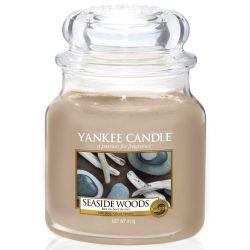 Yankee Candle Jar Glaskerze mittel 411g Seaside Woods