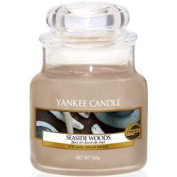 Yankee Candle Jar Glaskerze klein 104g Seaside Woods