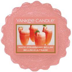 Yankee Candle Tart / Melt White Strawberry Bellini