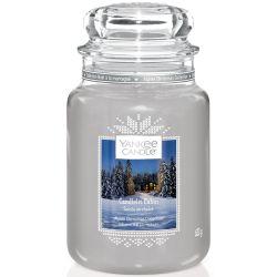 Yankee Candle Jar Glaskerze groß 623g Candlelit Cabin